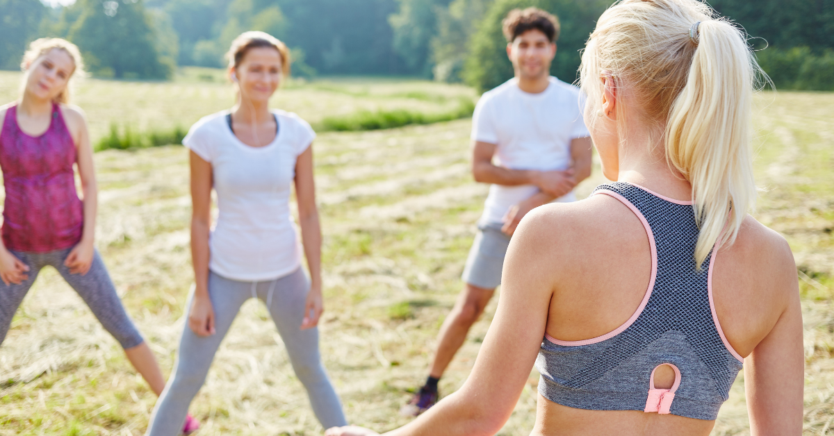 Free fitness bootcamp at the park
